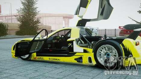 Nissan R390 GT1 для GTA 4 вид изнутри