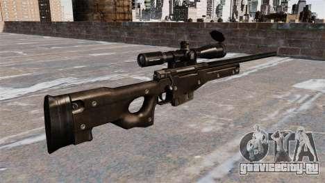 Снайперская винтовка AI AWM для GTA 4 второй скриншот
