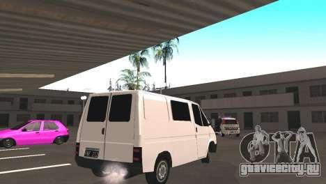Renault Trafic для GTA San Andreas вид справа