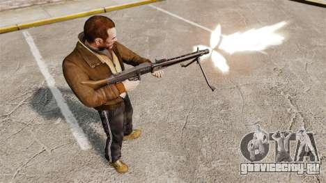 Единый пулемёт MG42 для GTA 4 четвёртый скриншот