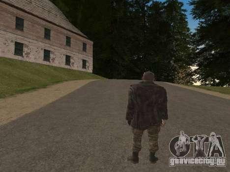 Виктор Резнов для GTA San Andreas пятый скриншот