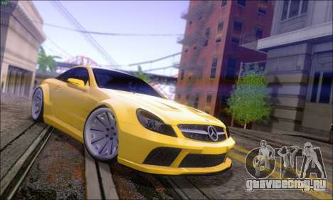 Mercedes-Benz SL65 AMG GB для GTA San Andreas вид слева