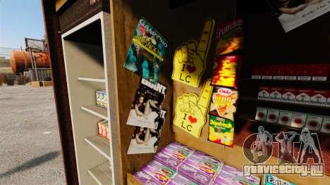 Новые товары в киоске новостей для GTA 4 шестой скриншот