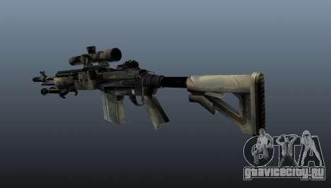 Снайперская винтовка M21 Mk14 v4 для GTA 4 второй скриншот
