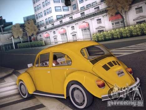 Volkswagen Käfer для GTA San Andreas вид справа
