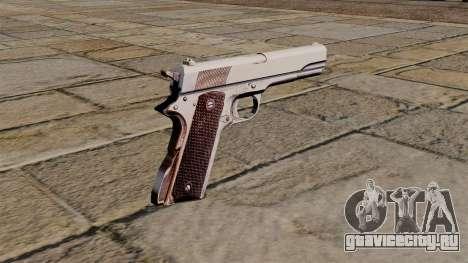 Пистолет Colt .45 M1911 для GTA 4 второй скриншот