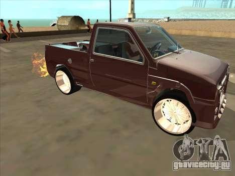 ВАЗ 1111 Ока для GTA San Andreas вид сверху