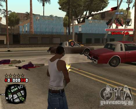 C-HUD Ghetto Live by Sanders для GTA San Andreas второй скриншот