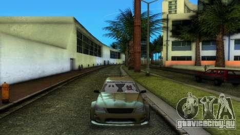 Lexus IS200 для GTA Vice City вид справа