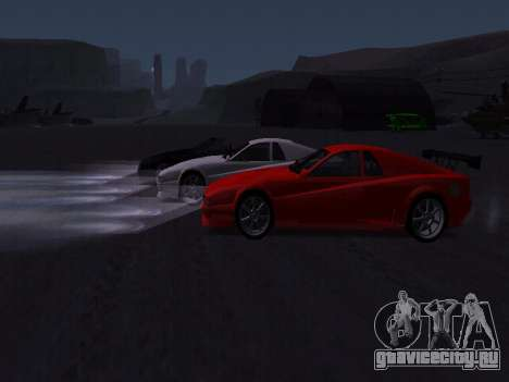 Сheetah Restyle для GTA San Andreas колёса