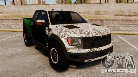 Ford F-150 SVT Raptor 2011 ArmyRat для GTA 4