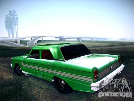 Ford Falcon Sprint для GTA San Andreas вид слева