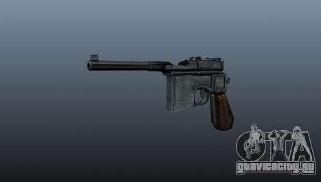 Самозарядный пистолет Mauser C96 для GTA 4