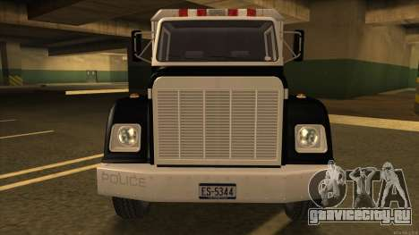 Enforcer HD from GTA 3 для GTA San Andreas вид слева