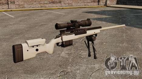 Снайперская винтовка McMillan TAC-300 для GTA 4 второй скриншот