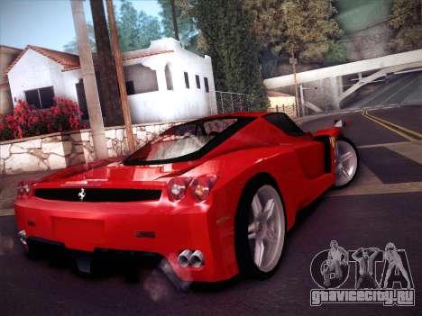Ferrari Enzo 2003 для GTA San Andreas вид сзади слева