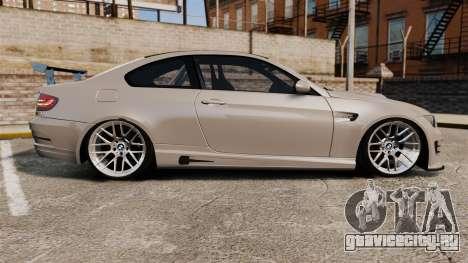 BMW M3 E92 GTS 2010 для GTA 4 вид слева