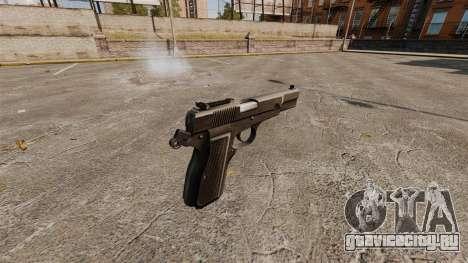 Самозарядный пистолет Browning Hi-Power для GTA 4 второй скриншот
