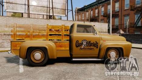 Hot Rod Truck Gas Monkey для GTA 4 вид слева