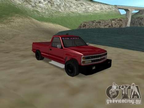 Chevrolet Silverado ATTF для GTA San Andreas