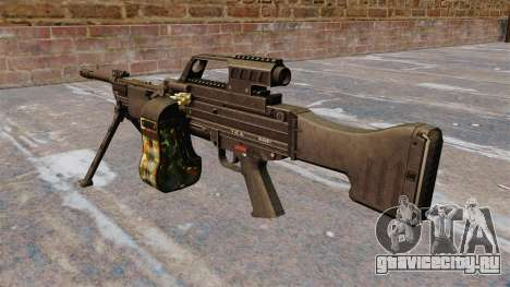 Ручной пулемёт HK MG4 для GTA 4 второй скриншот