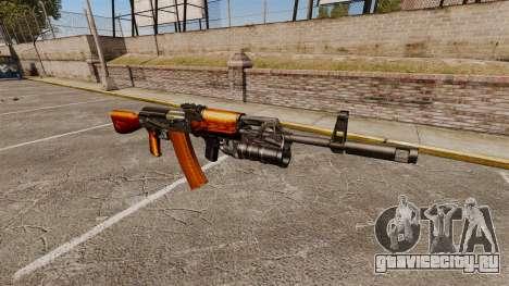 Автомат AK-47 v1 для GTA 4