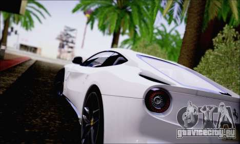 Ferrari F12 Berlinetta Horizon Wheels для GTA San Andreas вид справа