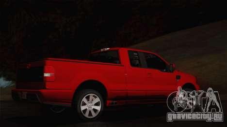 Saleen S331 Supercab 2008 для GTA San Andreas вид сзади слева