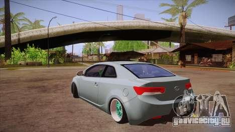 Kia Cerato для GTA San Andreas вид сзади слева