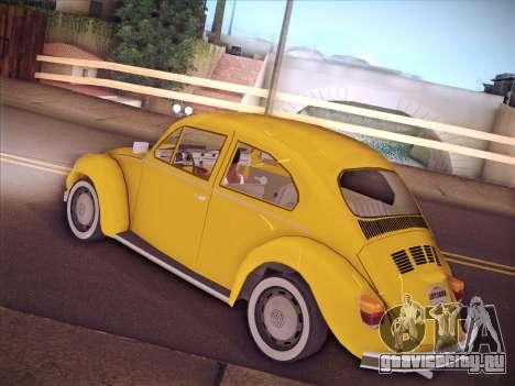 Volkswagen Käfer для GTA San Andreas вид сбоку