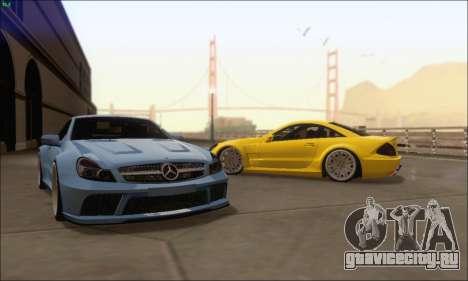 Mercedes-Benz SL65 AMG GB для GTA San Andreas вид справа