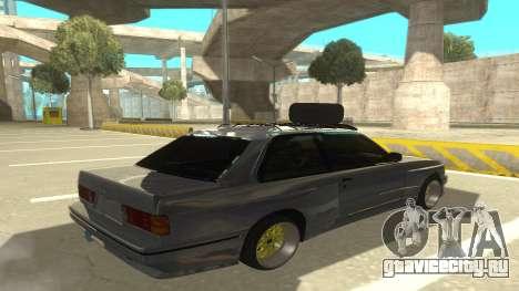 BMW E30 1991 для GTA San Andreas вид справа