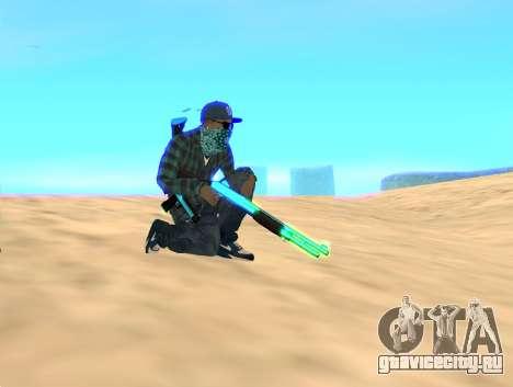 Rifa Gun Pack для GTA San Andreas второй скриншот