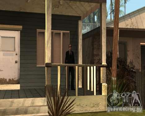 Охрана дома CJ для GTA San Andreas второй скриншот