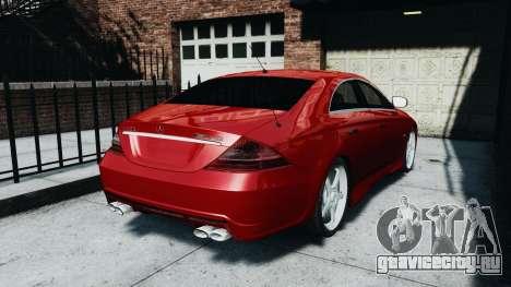 Mercedes-Benz CLS AMG для GTA 4 вид слева