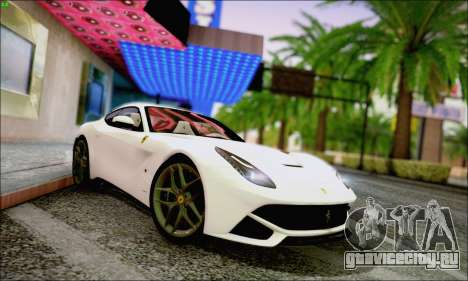 Ferrari F12 Berlinetta Horizon Wheels для GTA San Andreas вид слева