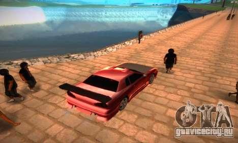 Elegy Hybrid для GTA San Andreas вид сзади слева