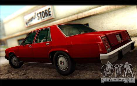 Ford LTD Crown Victoria 1987 для GTA San Andreas вид справа