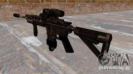 Автоматический карабин M4 Hybrid Scope для GTA 4 второй скриншот