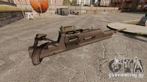 Станковый пулемёт XM312 для GTA 4 второй скриншот