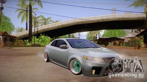 Kia Cerato для GTA San Andreas вид сзади