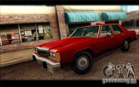 Ford LTD Crown Victoria 1987 для GTA San Andreas вид сзади слева