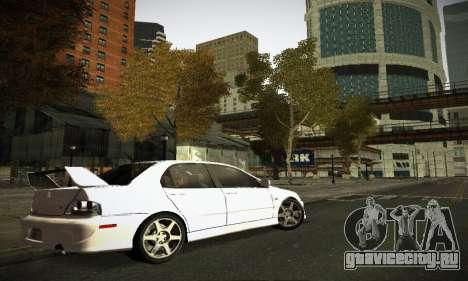 Mitsubishi Lancer Evo IX для GTA San Andreas салон