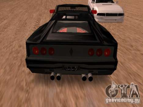 Сheetah Restyle для GTA San Andreas вид справа