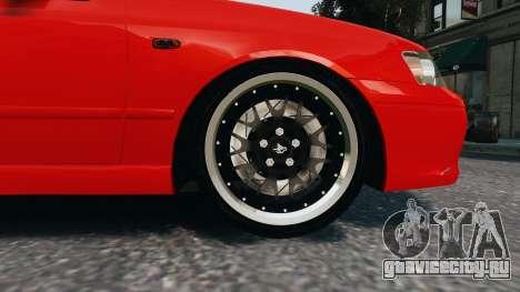 Ford Falcon XR8 для GTA 4 вид сзади