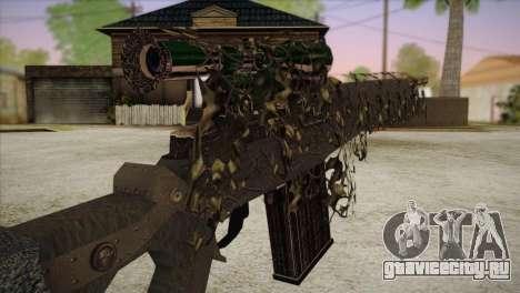 Sniper M-14 With Camouflage Grid для GTA San Andreas третий скриншот