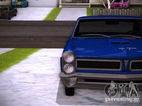 Playable ENB by Pablo Rosetti для GTA San Andreas шестой скриншот