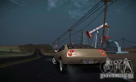 Fiat Coupe для GTA San Andreas вид сбоку