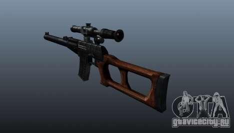 Снайперская винтовка Винторез для GTA 4 второй скриншот