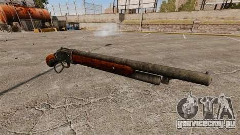 Ружьё Winchester Model 1887 v2.0 для GTA 4